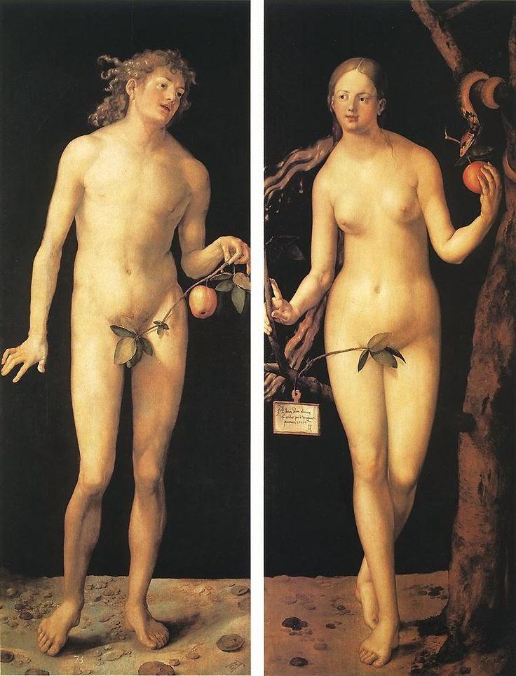 Adam and Eve, Albrecht Dürer
