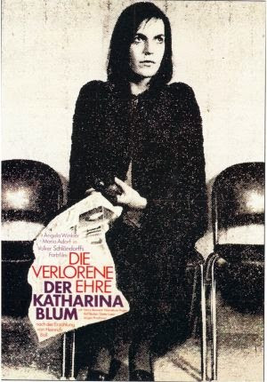 """The Lost Honor of Katharina Blum"" (film adaptation). Movie directors: Volker Schlondorff and Margarethe von Trotta."