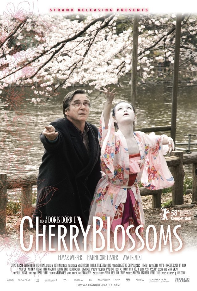 "Poster for the movie ""Cherry Blossoms"""
