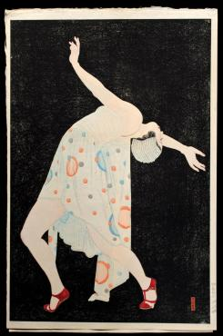 "Kobayakawa Kiyoshi ""Dansā or Setsuna no kyokusen (Dancer or Curve of the Instant)"" 1932"