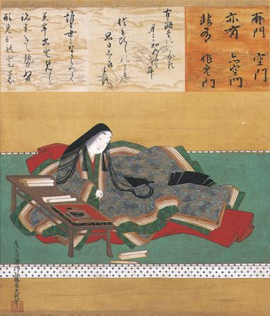 Tosa Mitsuoki. Murasaki Shikibu. 17th-century.