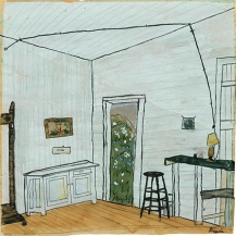 Elizabeth Bishop. Interior with Extension.