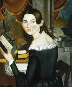 Jonathan Adams Bartlett. Portrait of Harriet. c. 1840