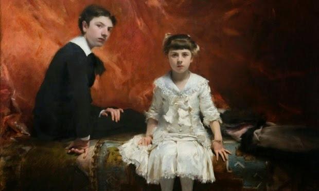 """John Singer. """"Édouard and Marie-Louise Pailleron."""" 1881. © Des Moines Art Center, Des Moines, Iowa."""