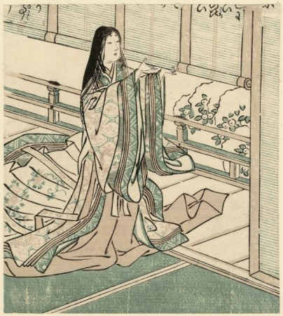 Tsukioka Settei. Sei Shonagon.