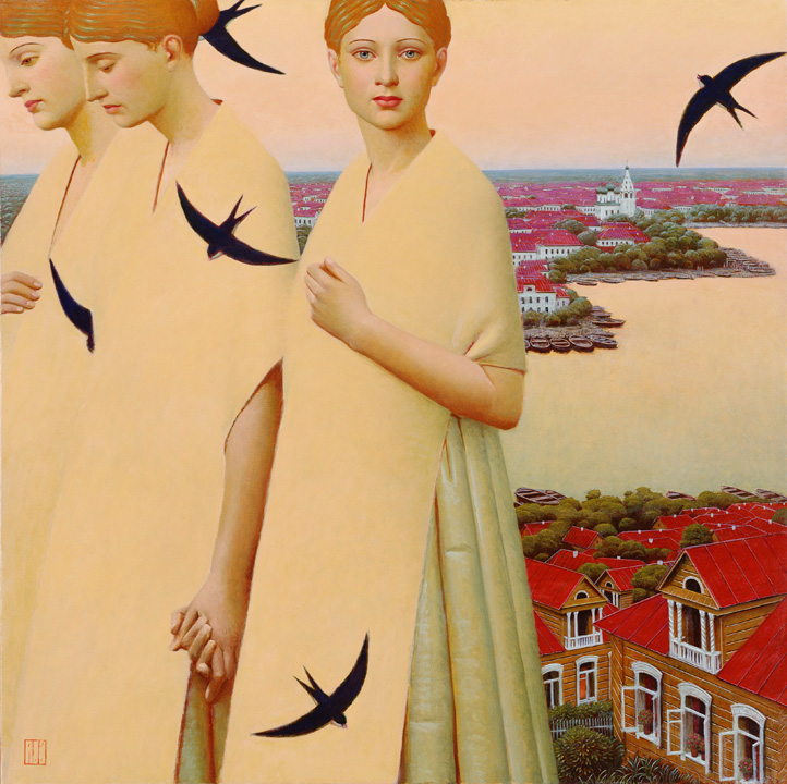 """Andrey Remnev. """"Celestial Bodies"""". 2011."""