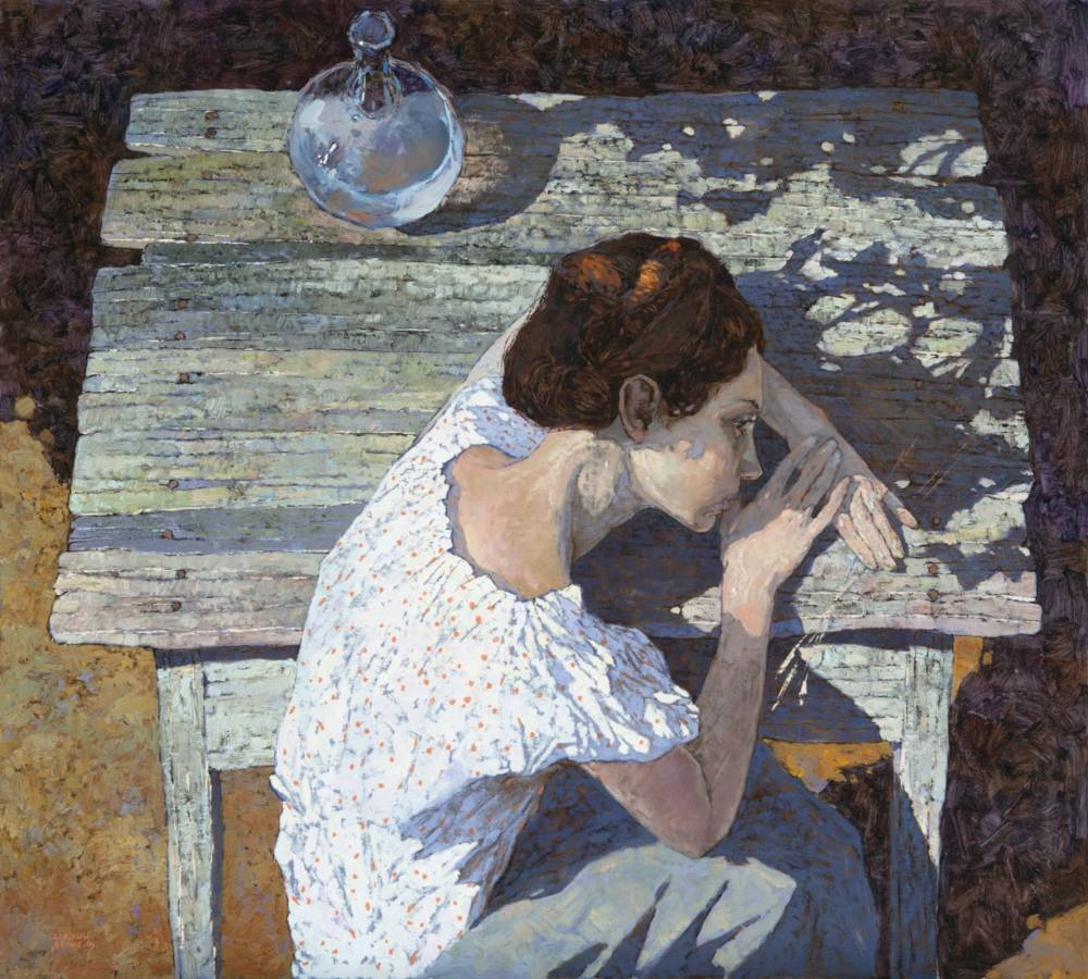 "Denis Sarazhin. ""In the Garden""."