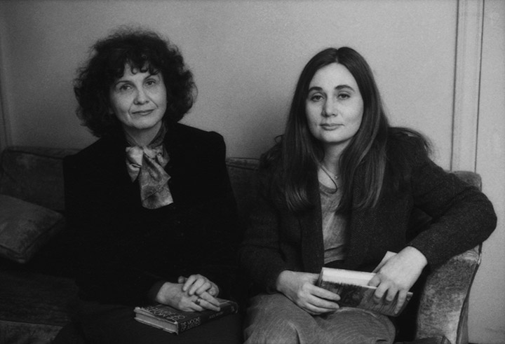 Alice Munro and Marilynne Robinson.