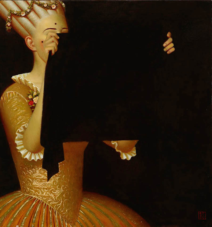 "Andrey Remnev, ""Hole""."
