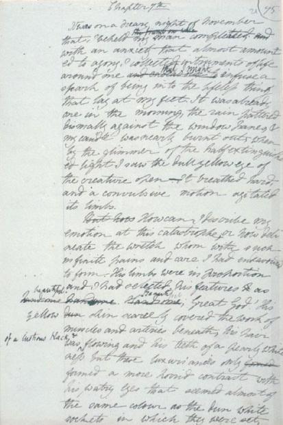 Frankenstein Draft