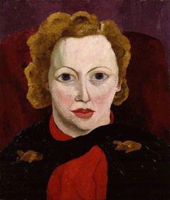 Cedric Morris, Portrait of Antonia White, 1936