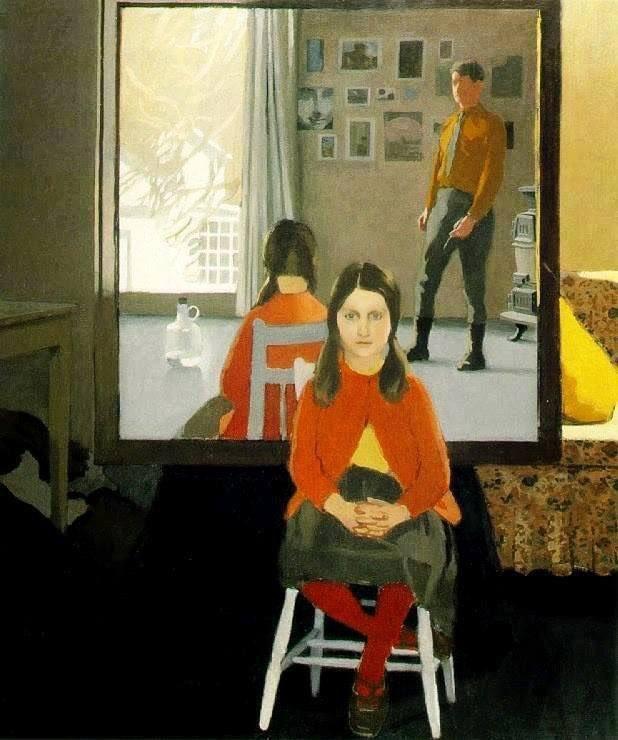 Fairfield Porter. The Mirror. 1966