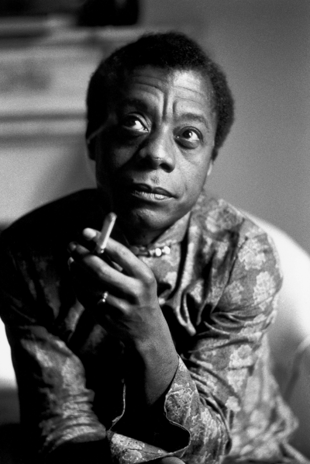 James Baldwin, France, 1970
