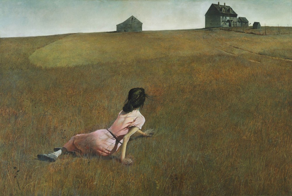 "Andrew Wyeth. ""Christina's World"". 1948."