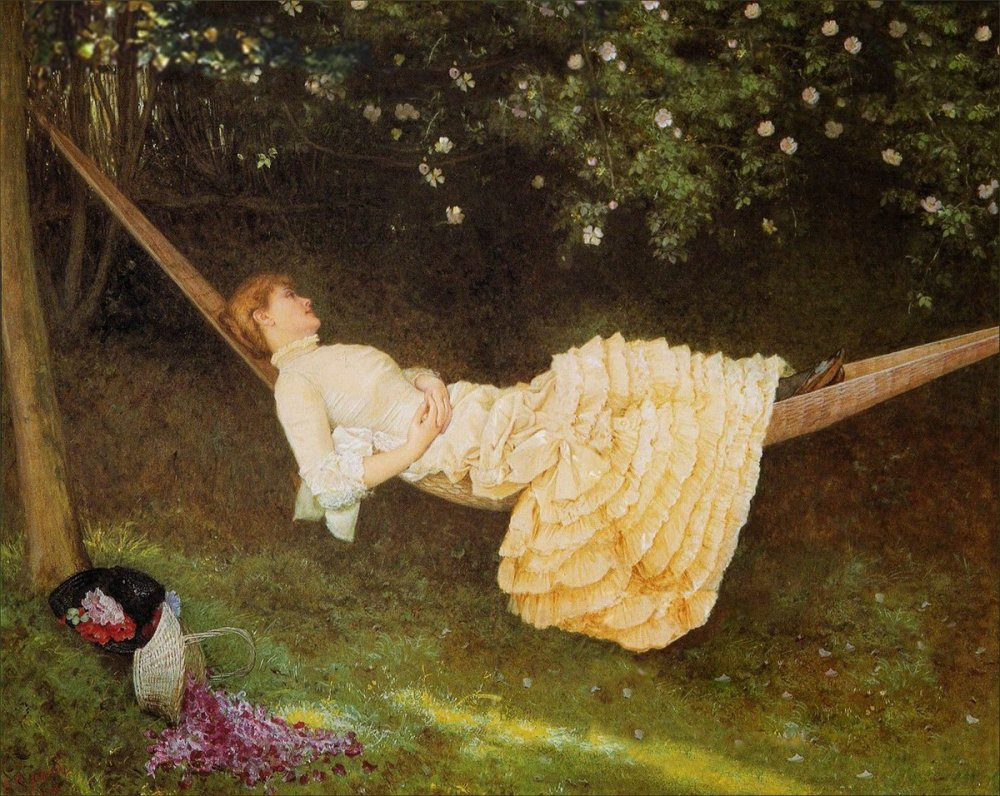 Edward Killingworth Johnson: The Hammock (1881)