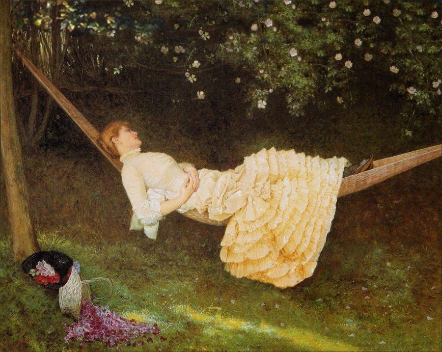Edward Killingworth Johnson: The Hammock (1881)