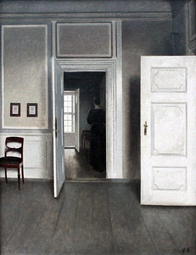 Interior Strandgade 30 - Vilhelm Hammershoi
