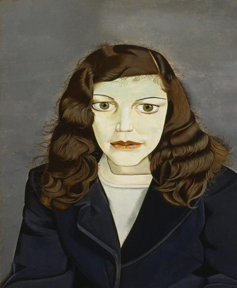 Lucian Freud: Girl in a Dark Jacket, 1947.