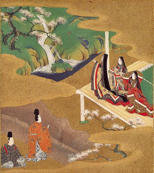 "Ch. 5 — 若紫 Wakamurasaki (""Young Murasaki""). Tosa Mitsuoki, 1617–91."