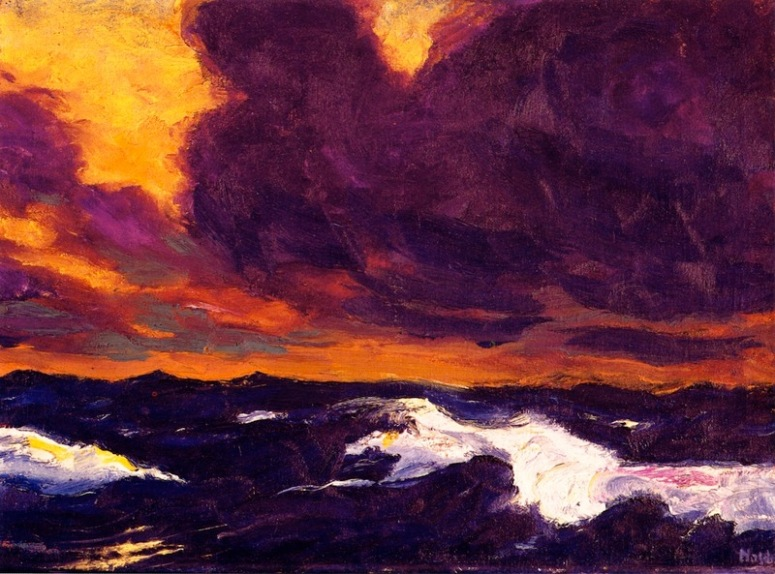 emil-nolde-the-sea-1930