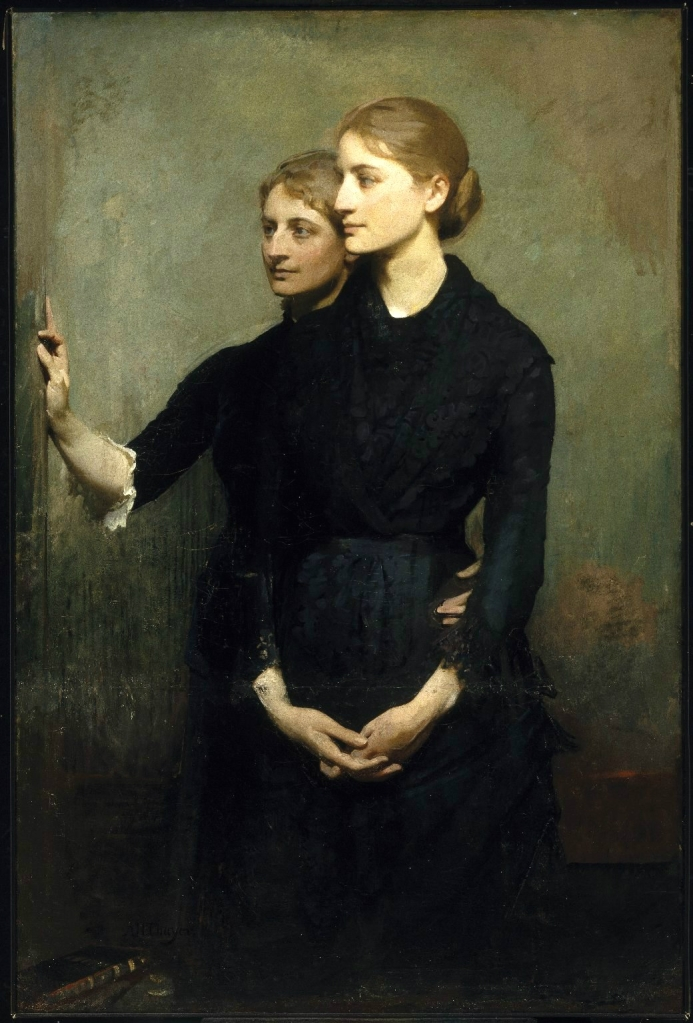 Abbott Handerson Thayer. The Sisters, 1884.