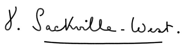 Vita Sackville-West