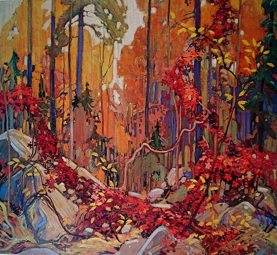 Autumn's Garland, by Tom Thomson