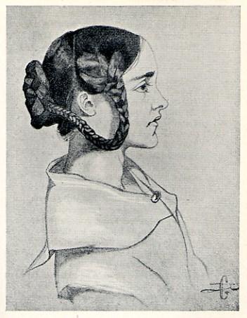 Dante Gabriel Rossetti. 'Christina Rossetti, 1846.