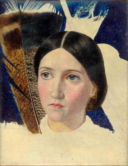 John Brett. 'Christina Rossetti, 1857.