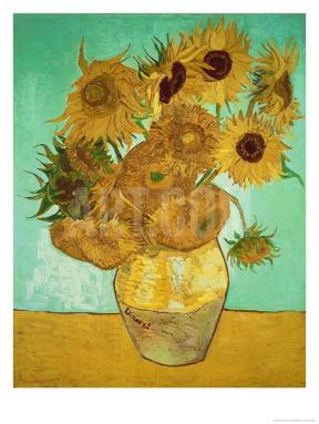 Vincent van Gogh, 'Sunflowers', 1889.