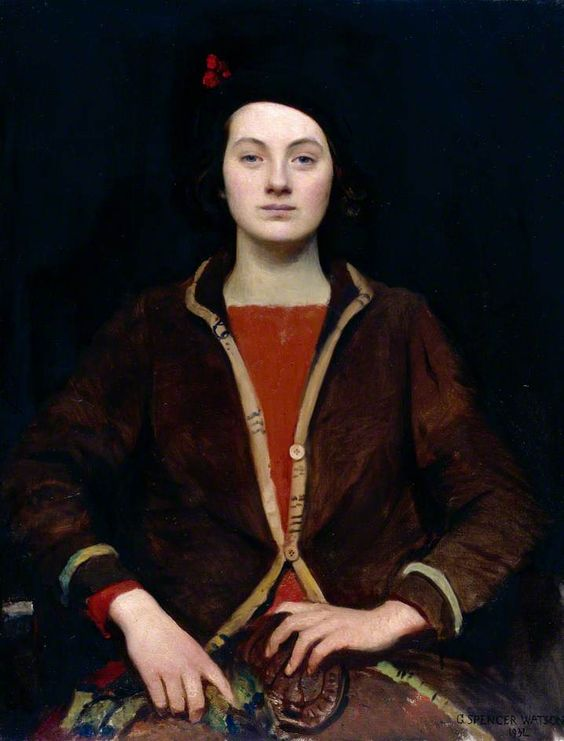 Mary, 1932, by George Spencer Watson