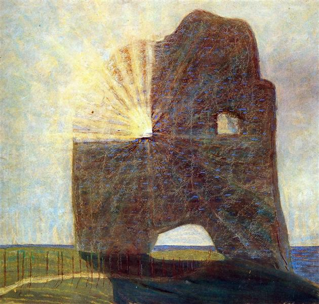 "Mikalojus Ciurlionis. ""The Past"". 1907."