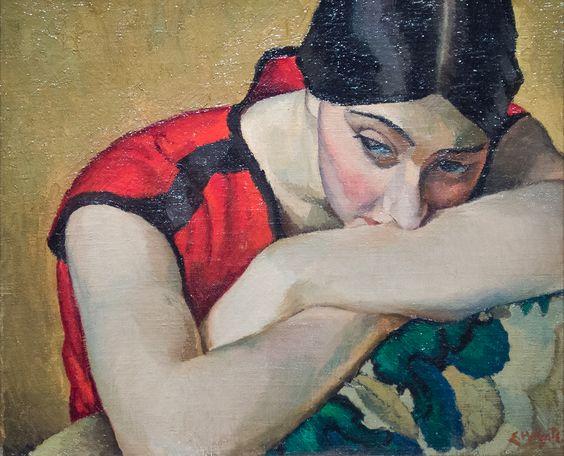 Suzi by Edwin Holgate 1923