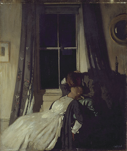 William Orpen. Night n. 02. 1907.