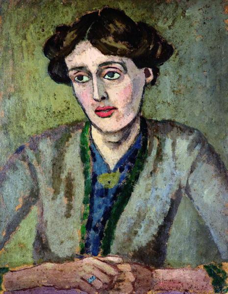 Virginia Woolf, by Roger Fry, 1917.