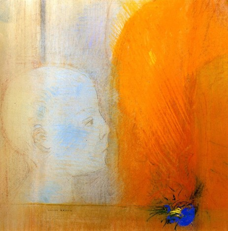 "Odilon Redon, ""The Child""."