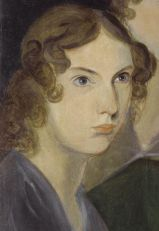Anne Brontë, as painted by her brother Patrick Branwell Brontë, from a portrait with her sisters, 1834