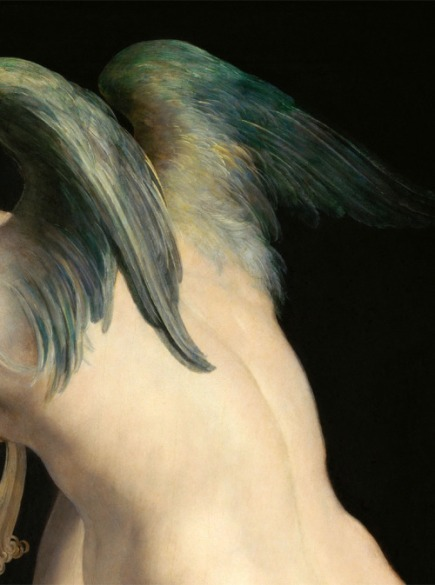 "Parmigianino. ""Cupid Making His Arch"" (Detail), c.1533–35"