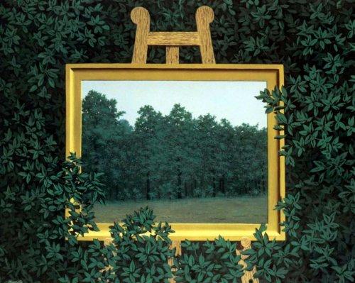 Rene Magritte - La cascade