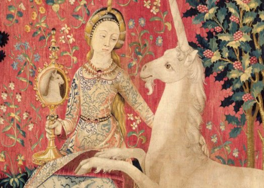 Detail from The Lady & the Unicorn, c.1495