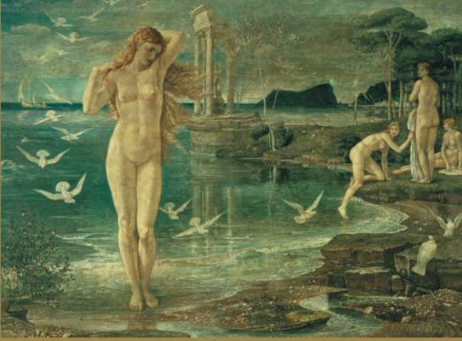The Renaissance of Venus. Walter Crane, 1877