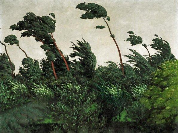 """The Wind"", Félix Vallotton, 1910"