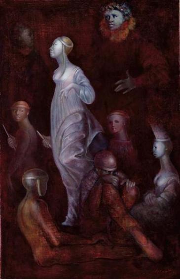 Leonor Fini, Mémoire des fragments passés, 1984