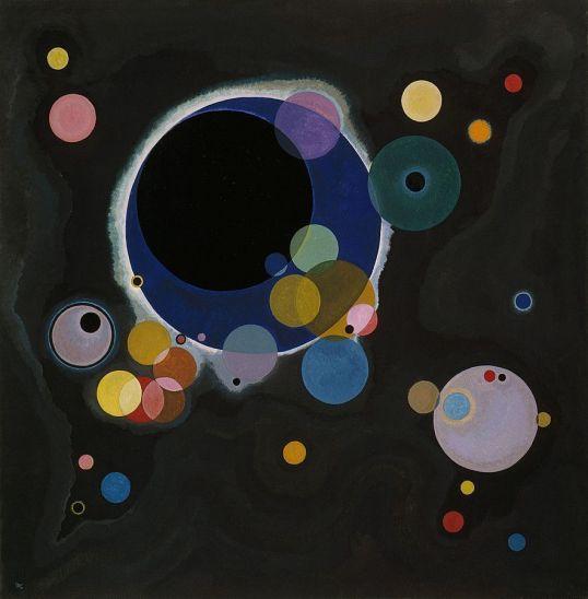 Vasily Kandinsky, Several Circles, Einige Kreise, 1926