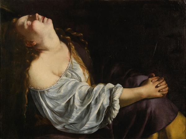 Artemisia Gentileschi, Mary Magdalene in Ecstasy, c.1620