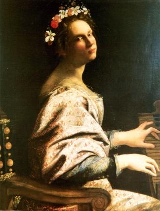 Artemisia Gentileschi, Santa Cecilia, 1620