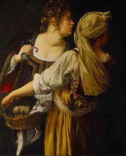 Artemisia Gentileschi, Judith with her Maidservant, 1613–14