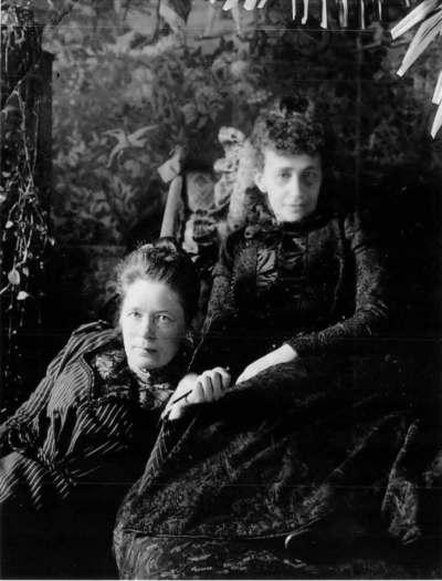 Selma Lagerlöf and Sophie Elkan