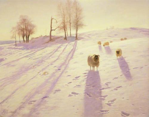 'When Snow the Pasture Sheets 2', by Joseph Farquharson