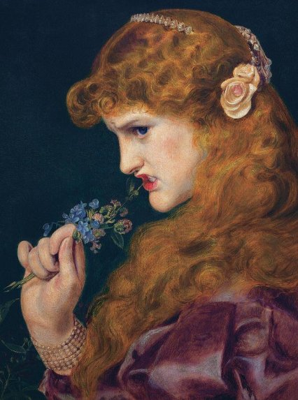 Anthony Frederick Augustus Sandys, 'Love's Shadow', 1867